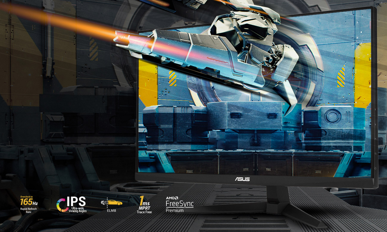 Monitor dla graczy ASUS TUF VG249Q1A