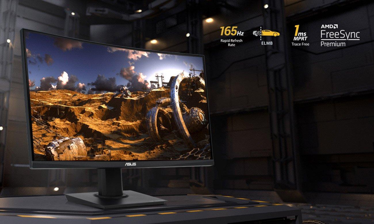 Monitor dla graczy ASUS TUF VG24VQE