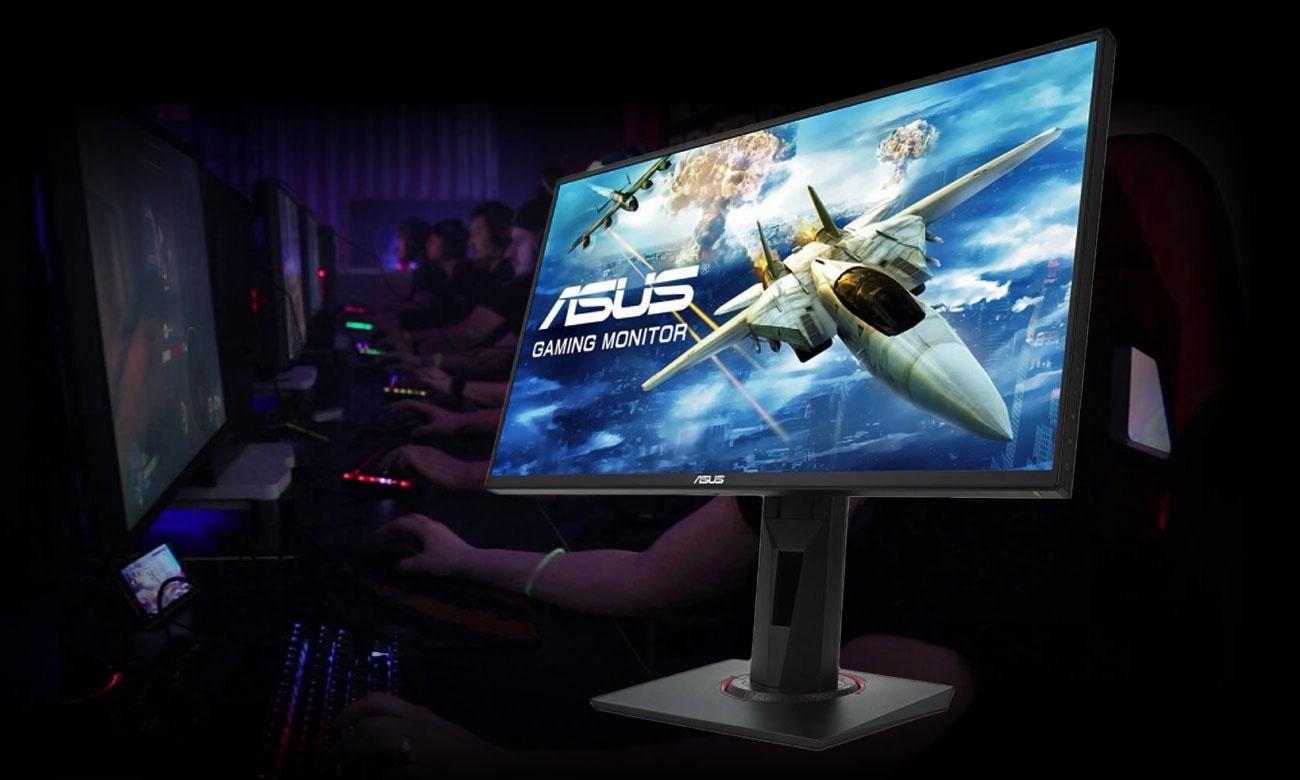 ASUS VG258Q Gamingowy monitor ze 144 Hz odświeżaniem