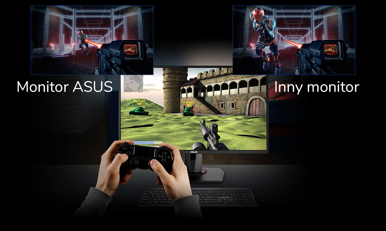 ASUS VG258Q Technologia GameFast Input Technology