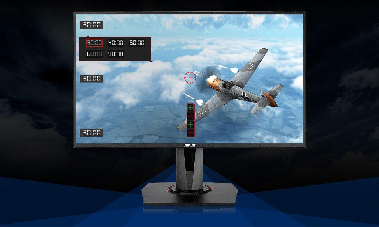 ASUS VG258Q Wyjątkowa technologia ASUS GamePlus