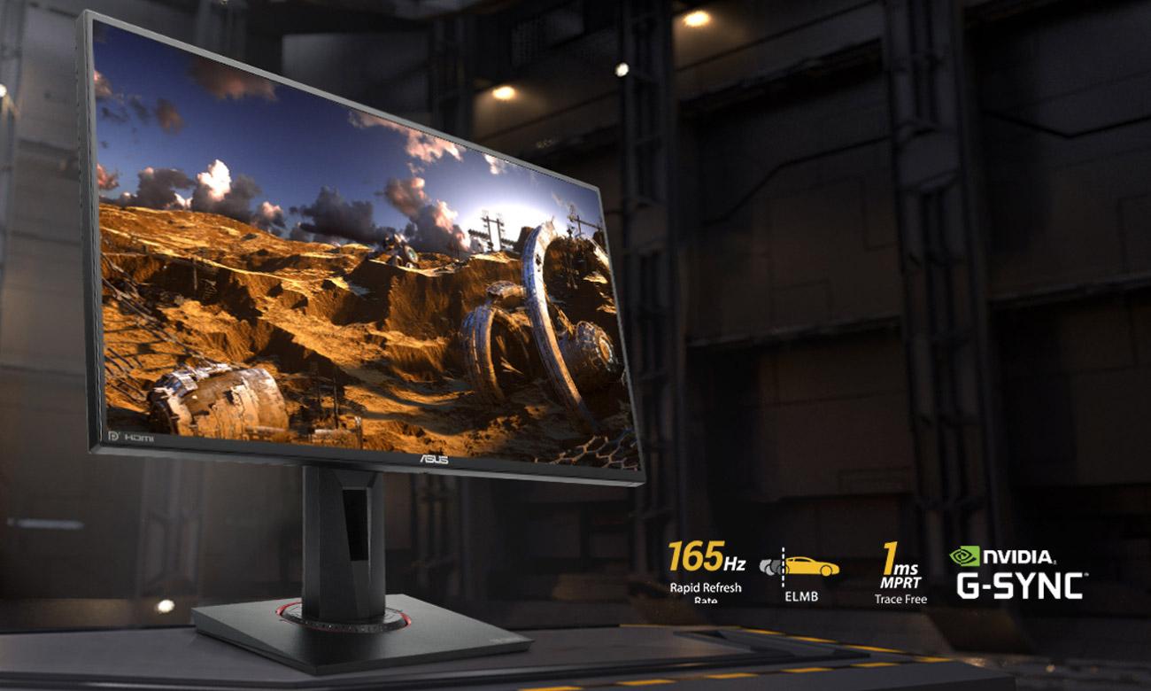 Monitor dla graczy ASUS TUF VG259QR