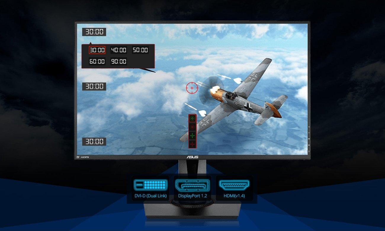 ASUS VG278Q Funkcje dla graczy