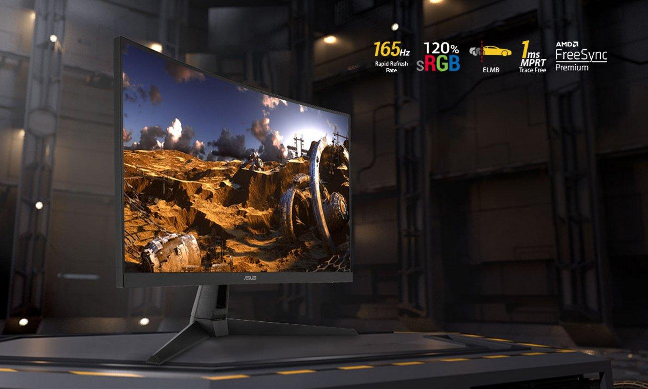 Monitor gamingowy ASUS VG27VH1B