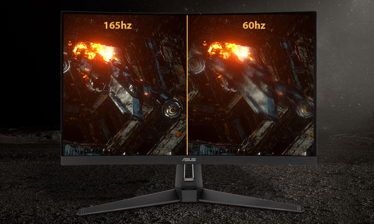 Częstotliwość odświeżania 165 Hz