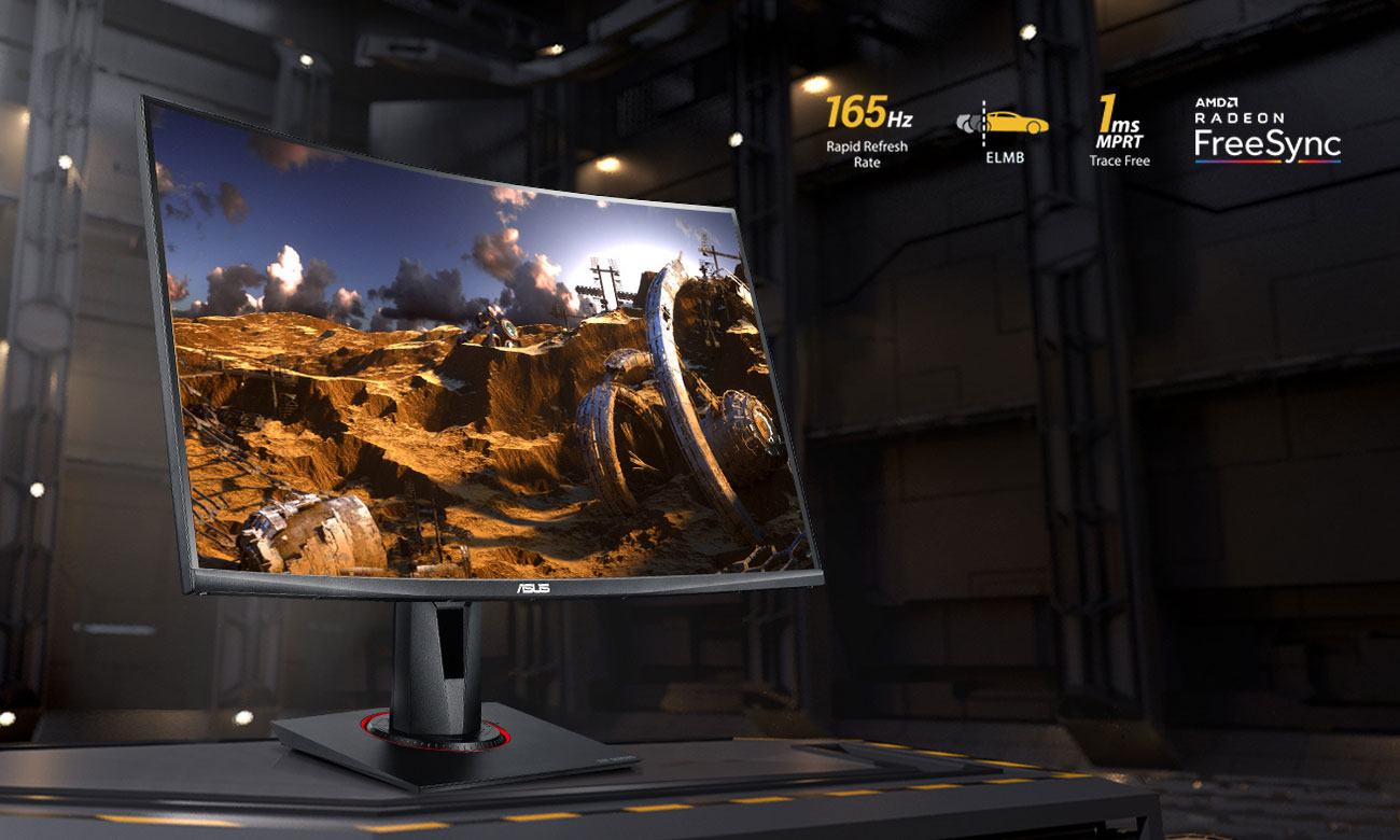 Monitor dla graczy ASUS TUF VG27VQ Curved