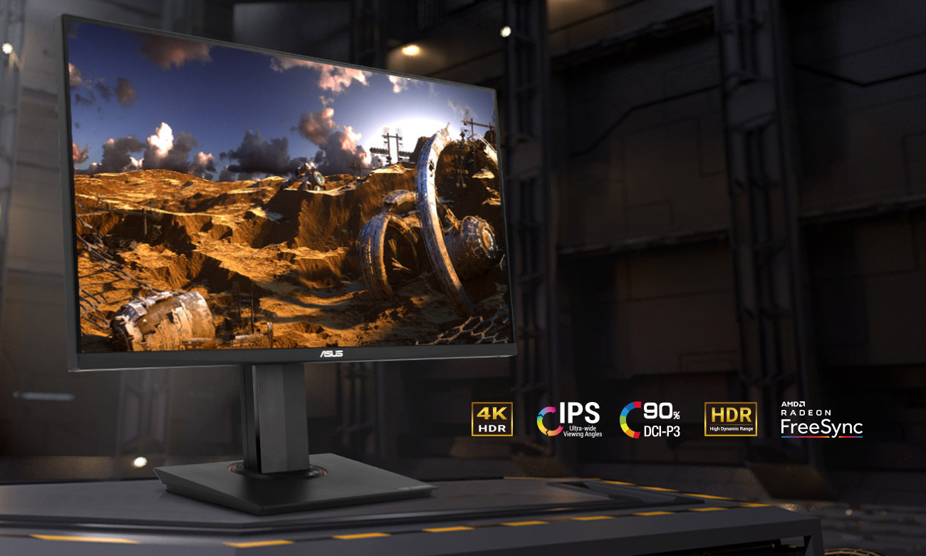 Monitor dla graczy ASUS TUF VG289Q 4K HDR