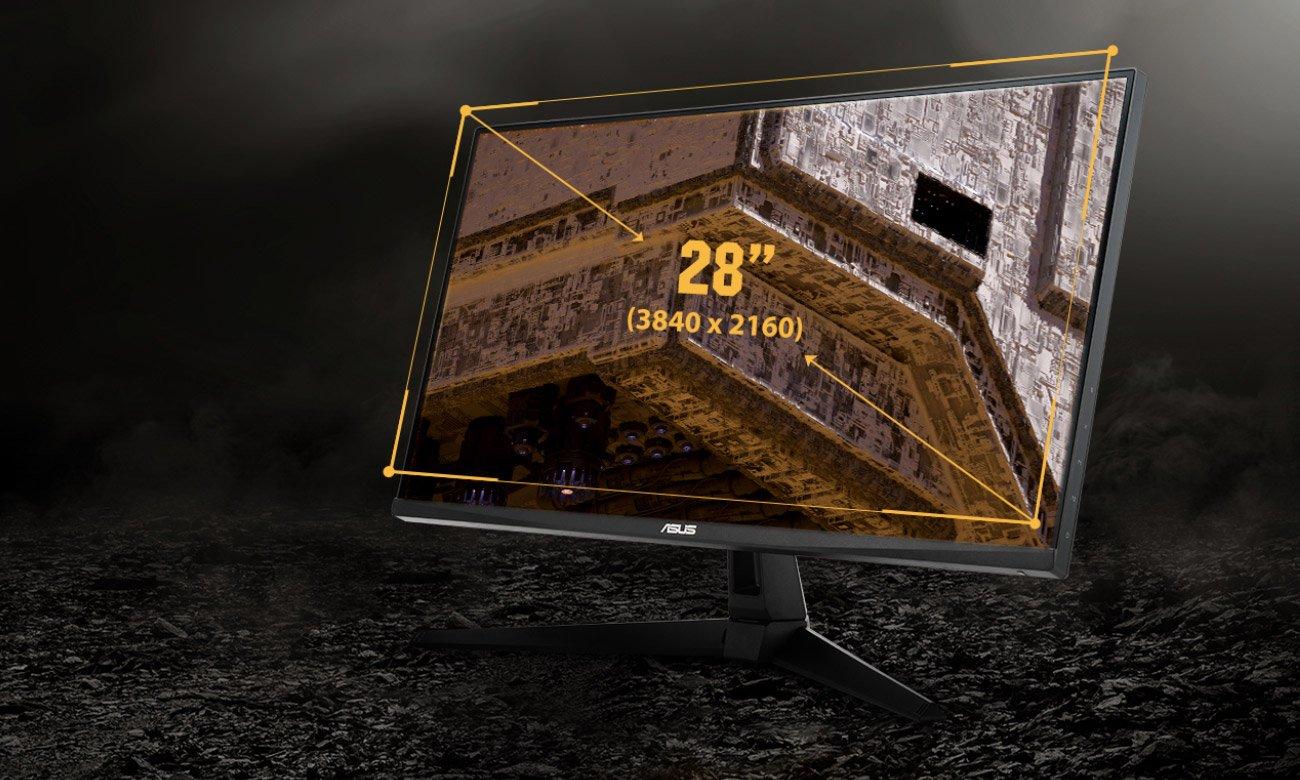 Rozdzielczość 4K na dużym ekranie