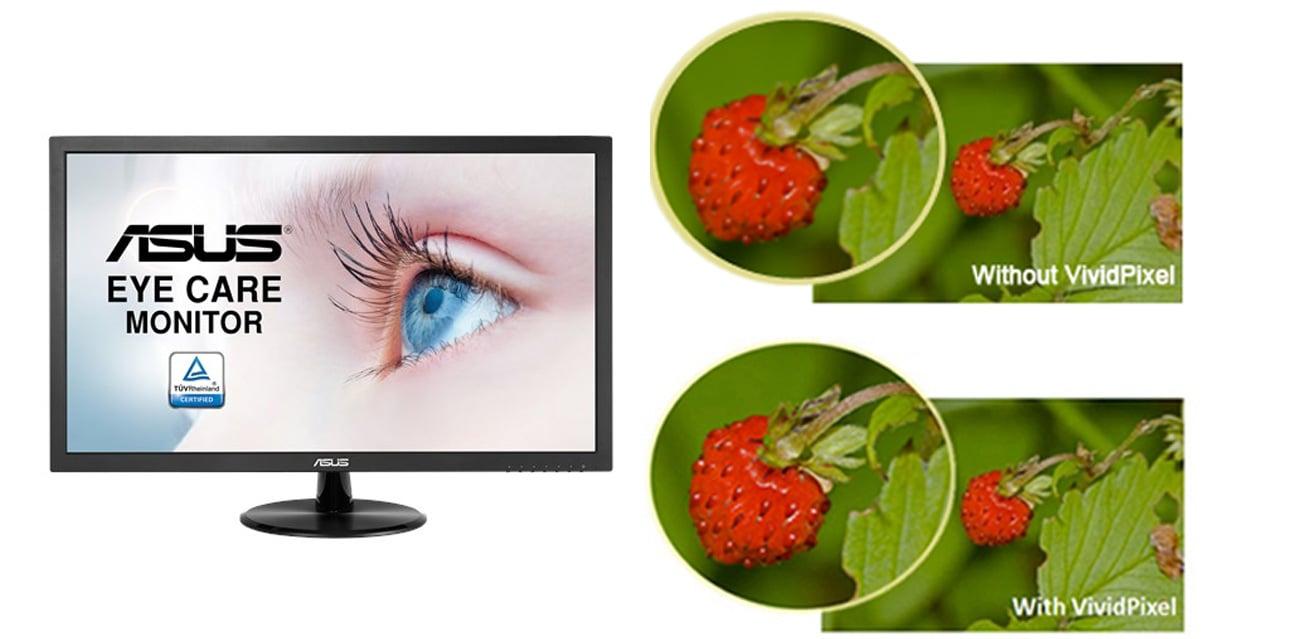 ASUS VP228DE Technologia VividPixel