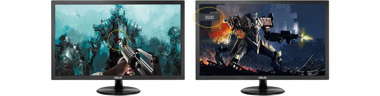 ASUS VP228HE Technologia GamePlus