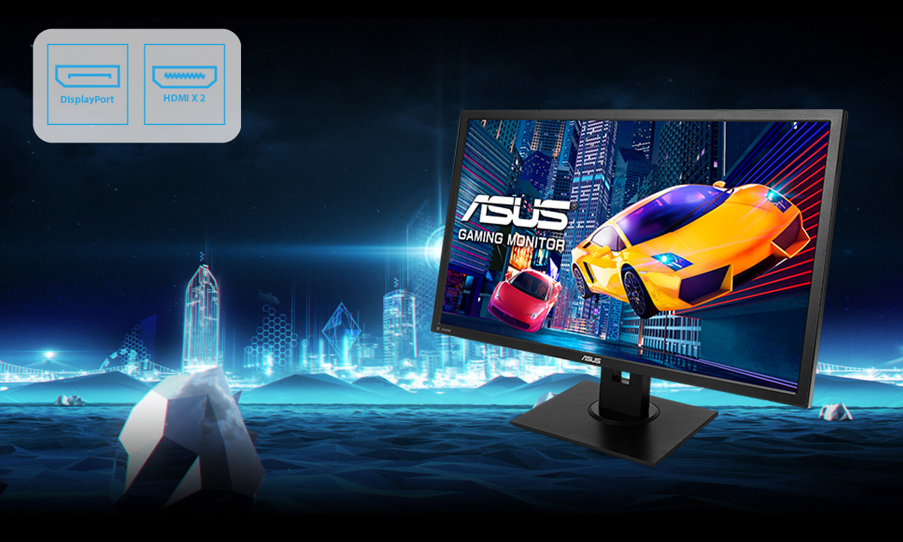 Monitor dla graczy ASUS VP28UQGL