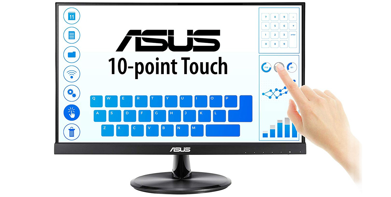 Monitor Dotykowy ASUS VT229H