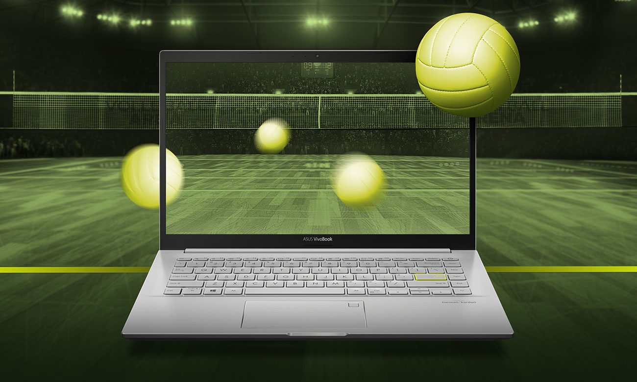ASUS VivoBook 14 K413 ekran NanoEdge