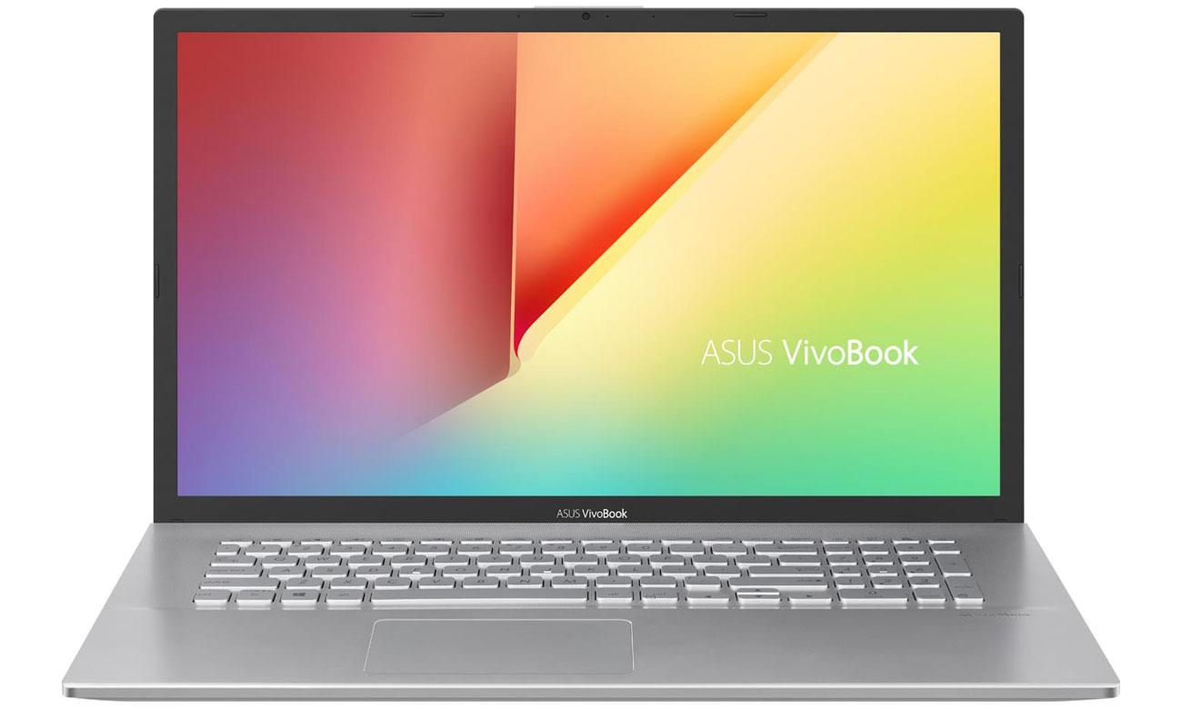 Przód ekran notebook ASUS VivoBook 17 X712FA