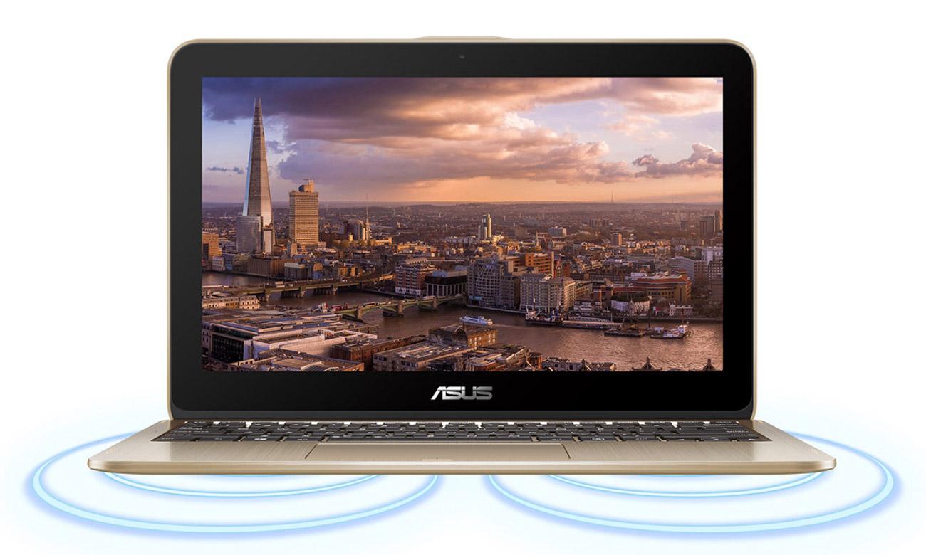 ASUS VivoBook Flip 12 TP203MAH Oszałamiający obraz, Dźwięk przestrzenny