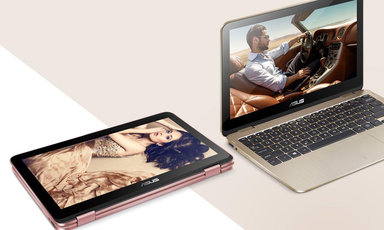 ASUS VivoBook Flip 12 TP203MAH Dwu łożyskowy zawias obracany o 360 stopni