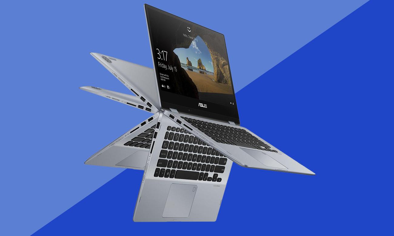 ASUS VivoBook Flip 14 TP412UA Bezpieczna, szybko ładująca się i trwała bateria