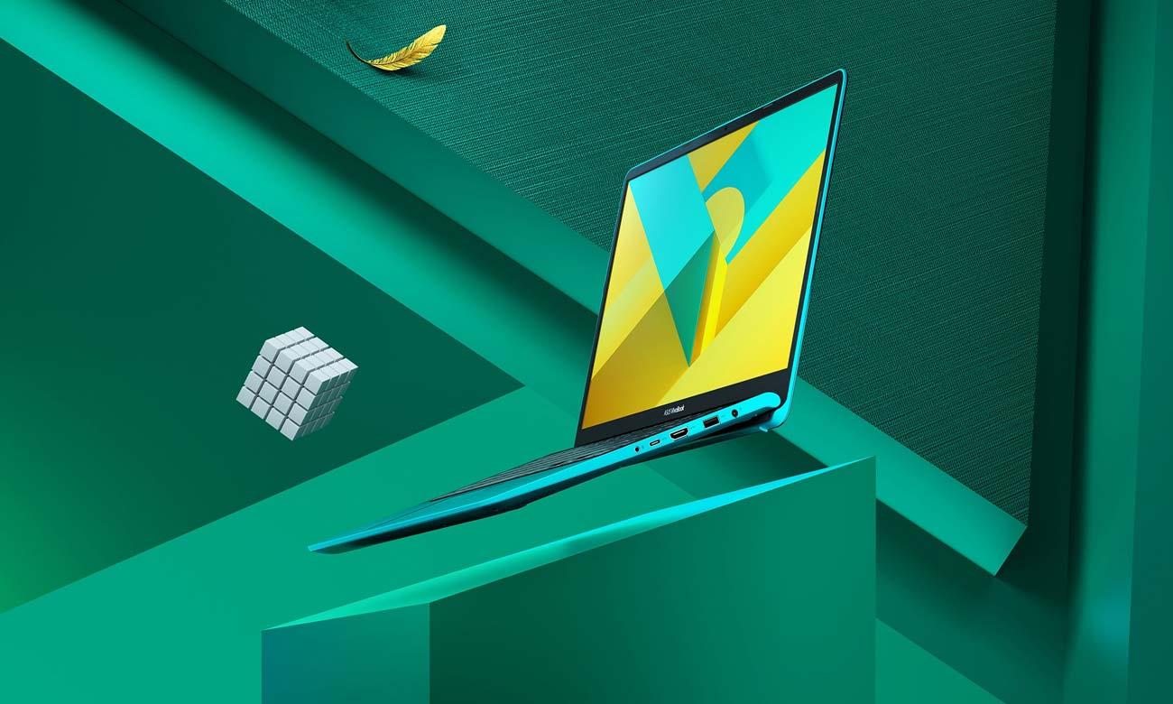 ASUS VivoBook S14 aktywny styl życia lekka konstrukcja ekran NanoEdge