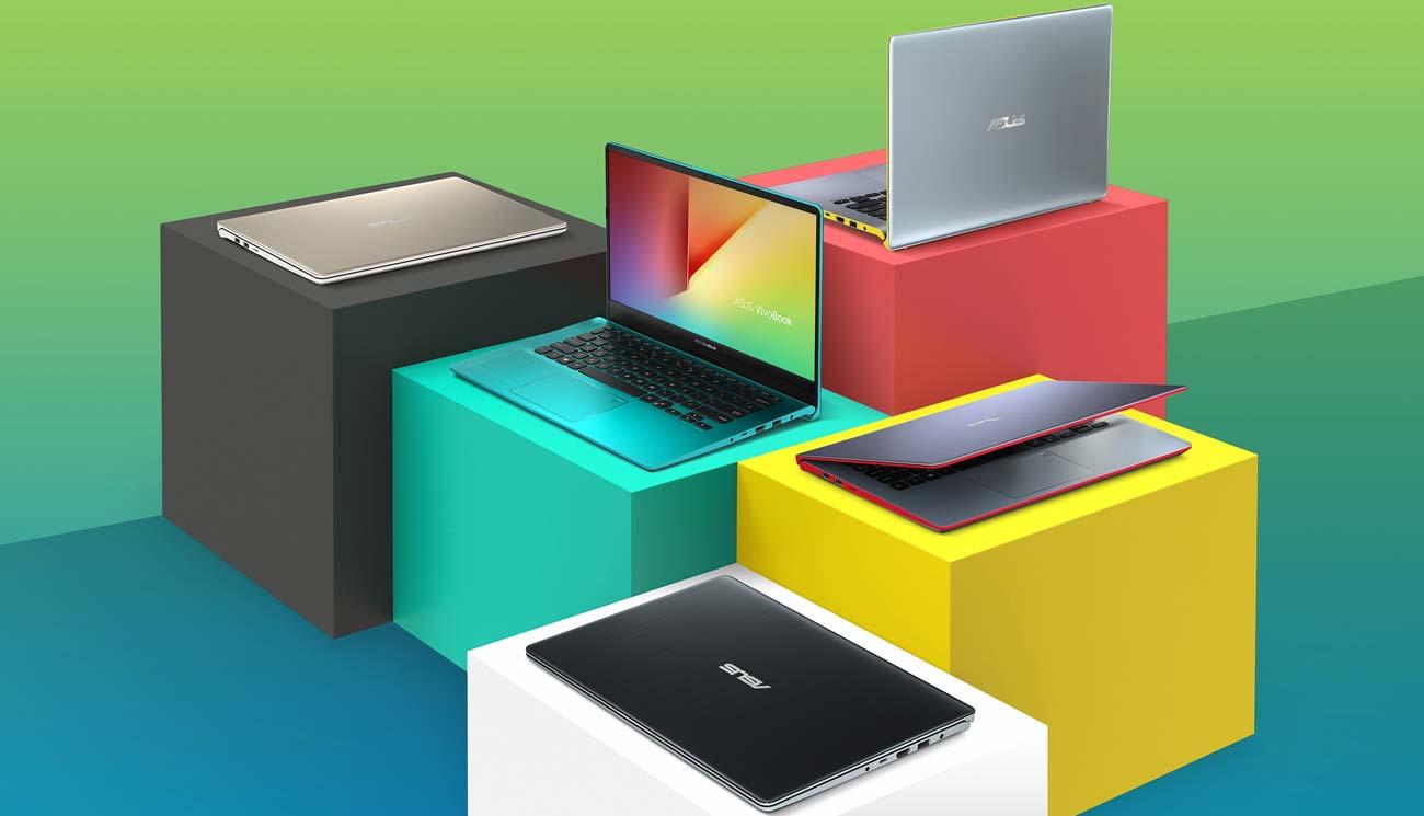 ASUS VivoBook S14 kolorystyka intensywne kolory