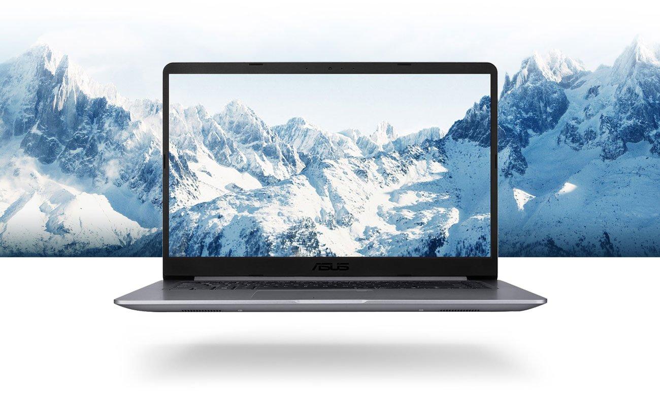 ASUS VivoBook S15 S510UN Wyświetlacz NanoEdge z ultrasmukłą ramką