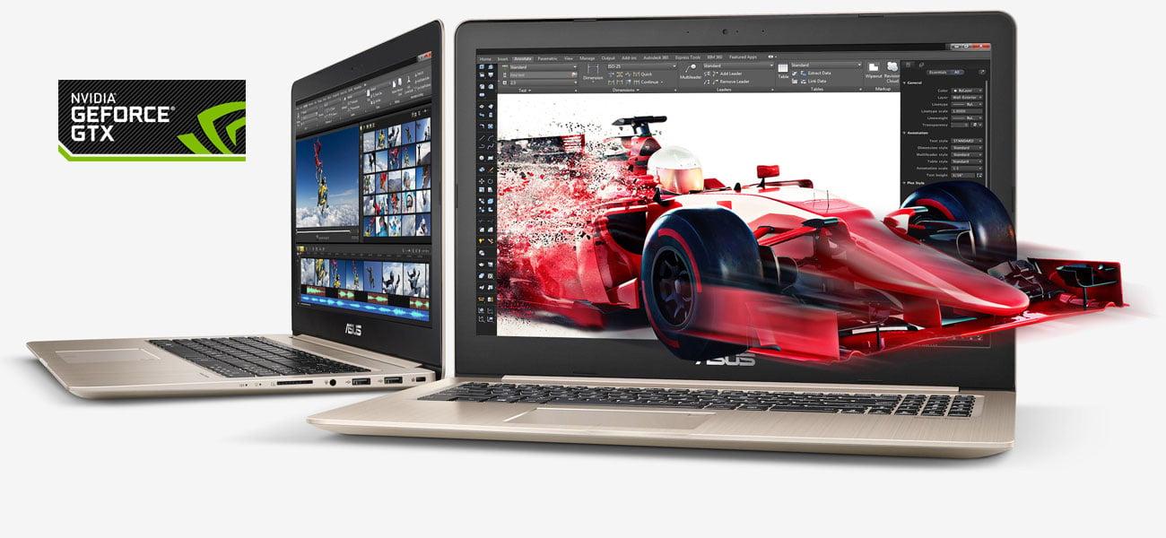 ASUS VivoBook Pro 15 N580VD GeForce GTX 1050