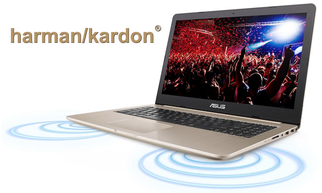 ASUS VivoBook Pro 15 N580VD Głośniki Harman Kardon z technologią Smart Amplifier