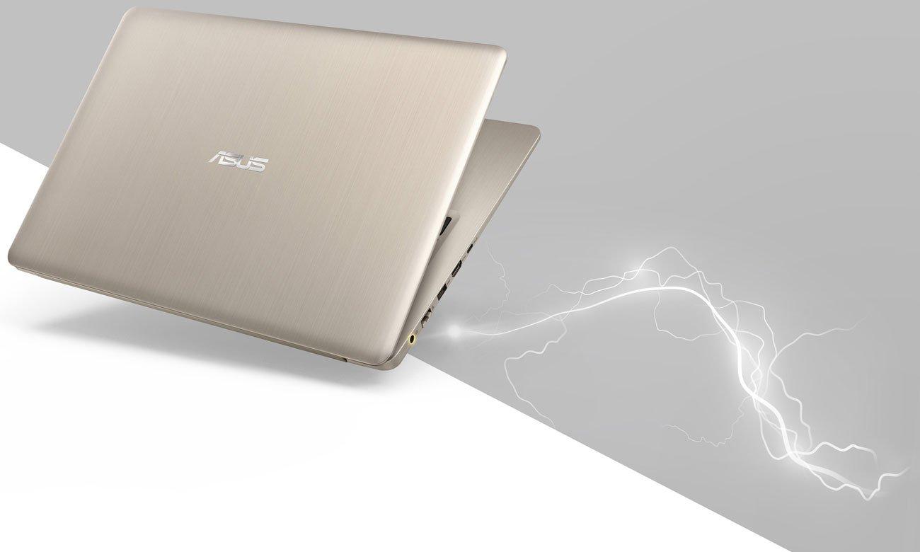 ASUS VivoBook Pro 15 N580VD Technologia szybkiego ładowania i Wydajna bateria