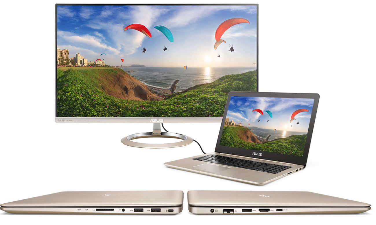 ASUS VivoBook Pro 15 N580VD Швидке та ефективне підключення