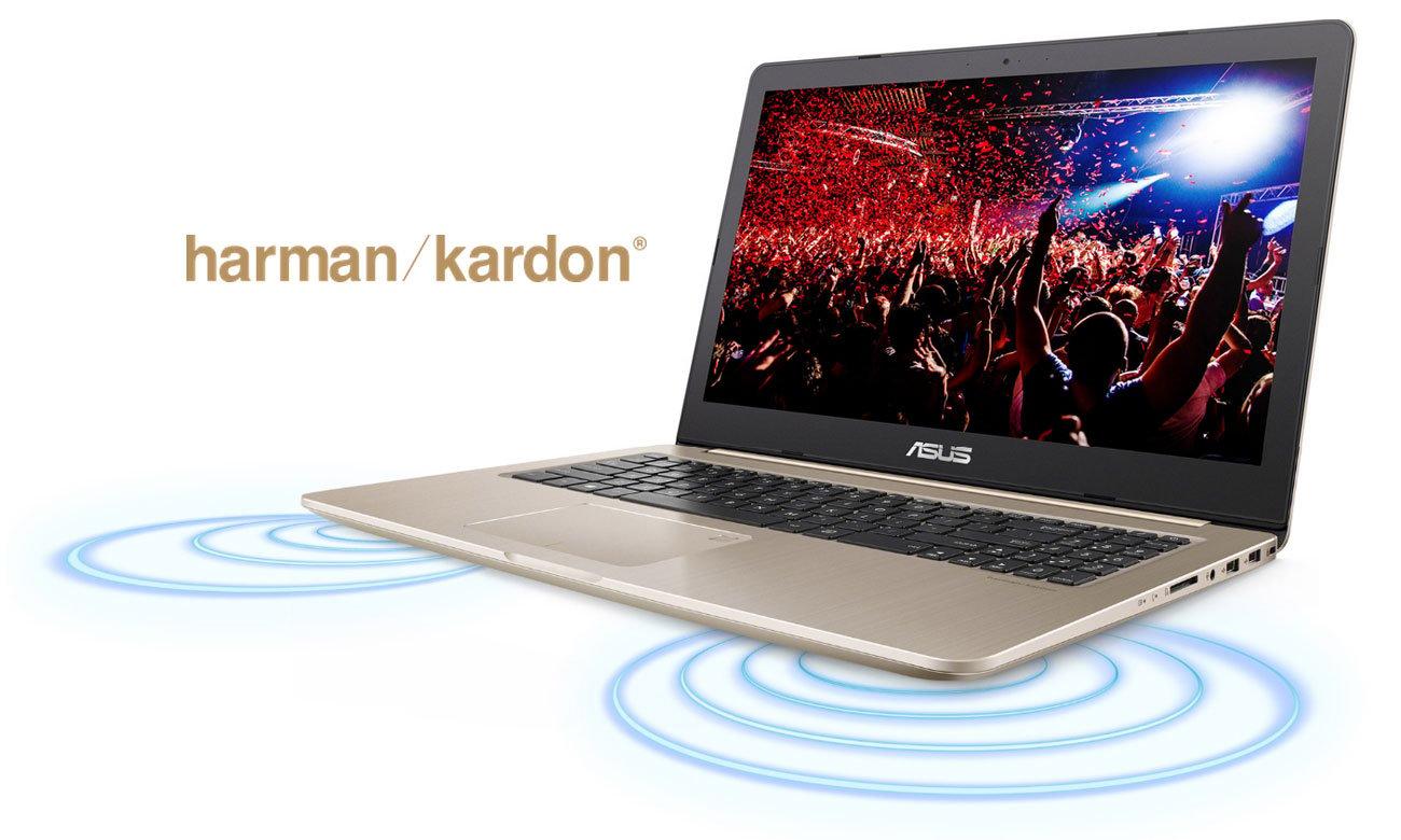 ASUS VivoBook Pro 15 N580GD Głośniki Harman Kardon z technologią Smart Amplifier