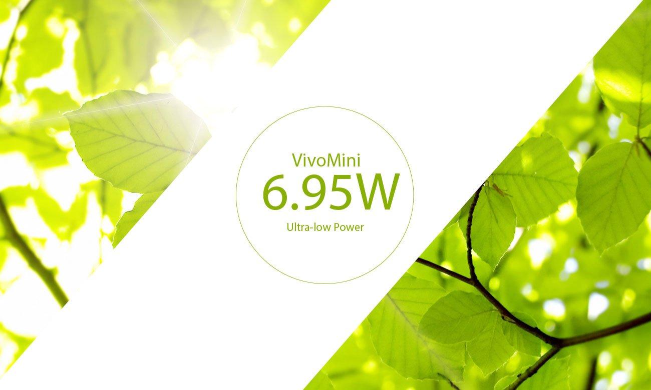 Asus VivoMini UN62 Energoszczędny