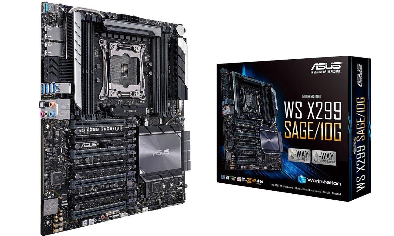 Płyta główna serwerowa ASUS WS X299 SAGE 10G
