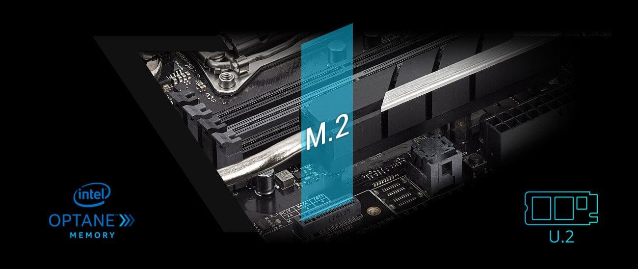 ASUS WS X299 SAGE 10G Złącze PCIe 3.0 x4 M.2