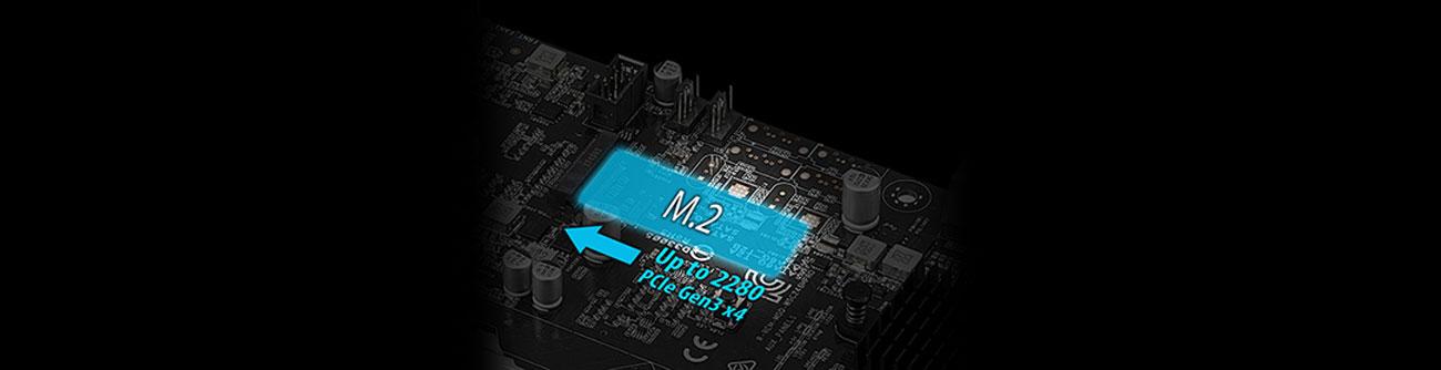 ASUS WS C246M PRO Złącze M.2
