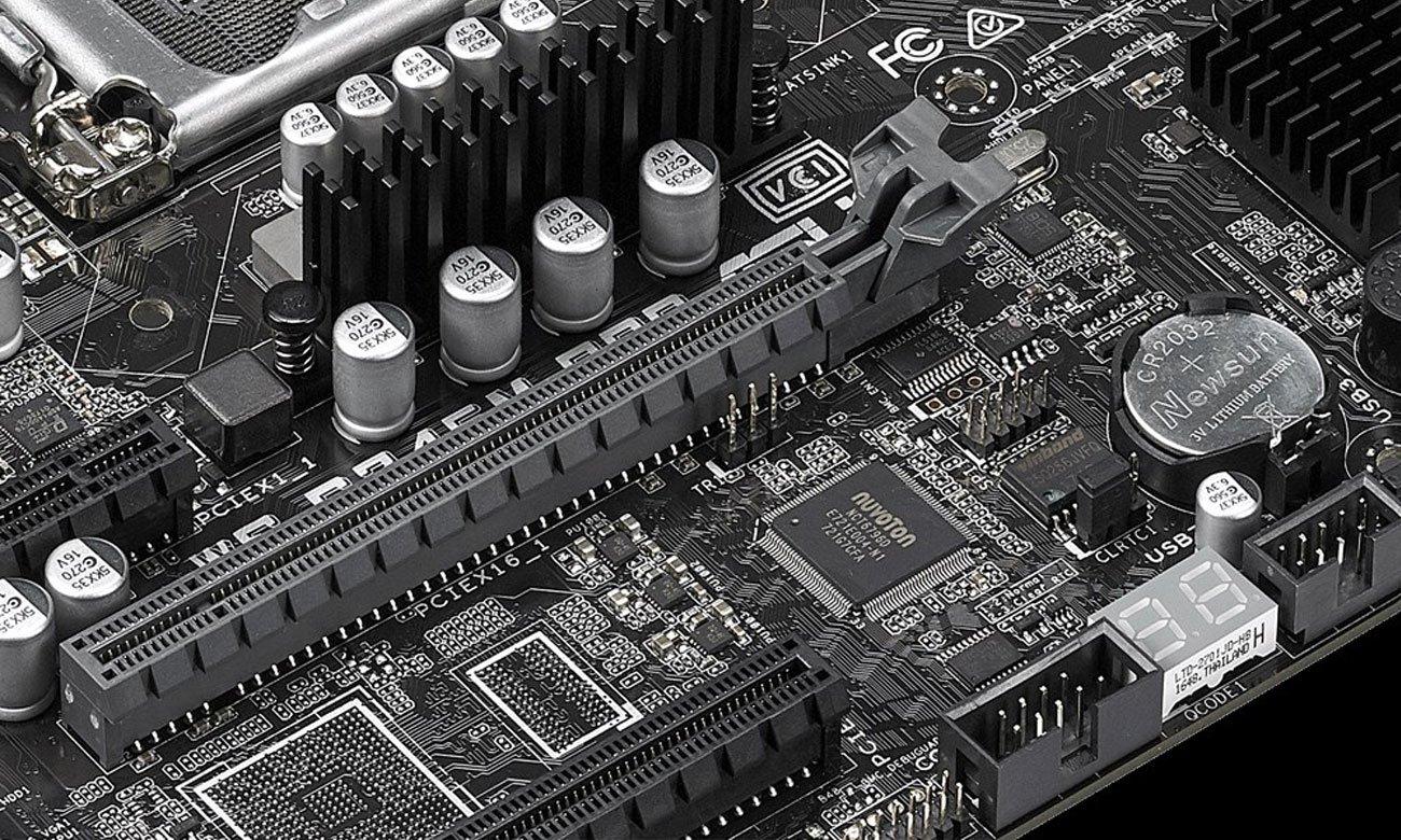 ASUS WS C246M PRO Wzmocniony slot PCIe