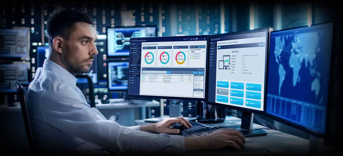 ASUS WS C246M PRO ASUS Control Center