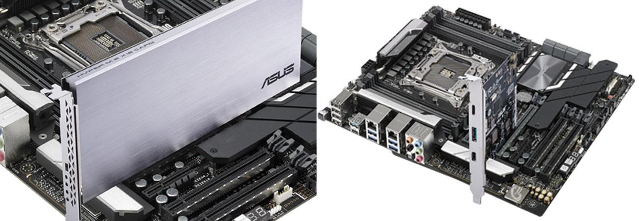 ASUS WS C422 PRO/SE Obsługa Intel VROC i karty ThunderboltEX 3