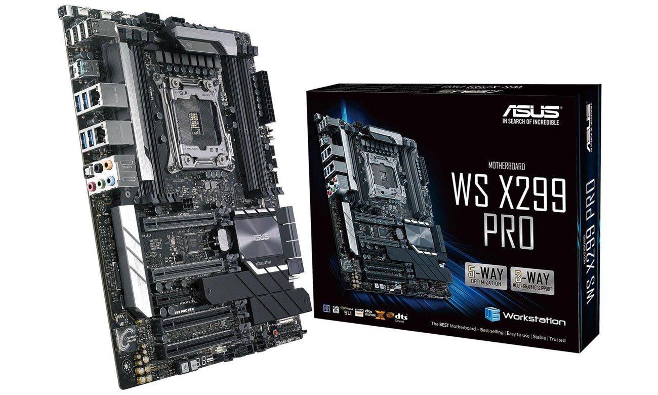 ASUS WS X299 PRO Wydajność, overclocking, niezawodność