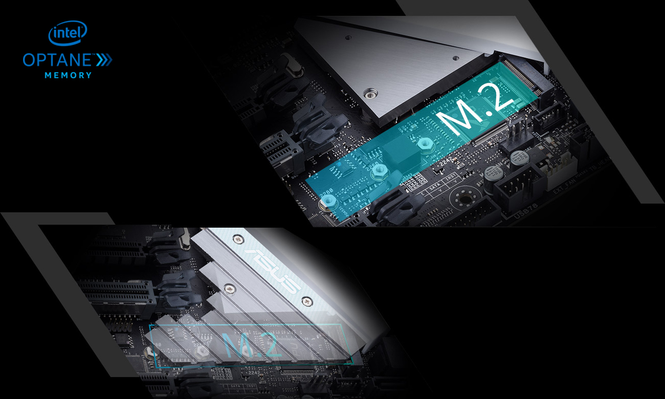 ASUS PRIME X299-A Pamięć SSD M.2 Intel Optane