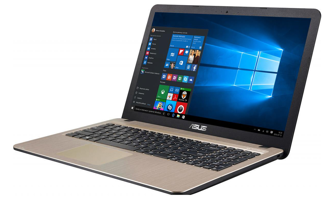 Laptop ASUS X540LJ z procesorem Intel Core