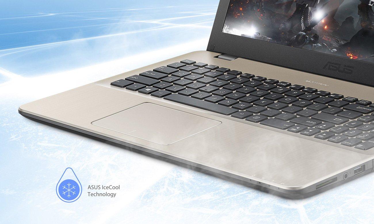 wydajne chłodzenie w ASUS VivoBook 15 X542UA