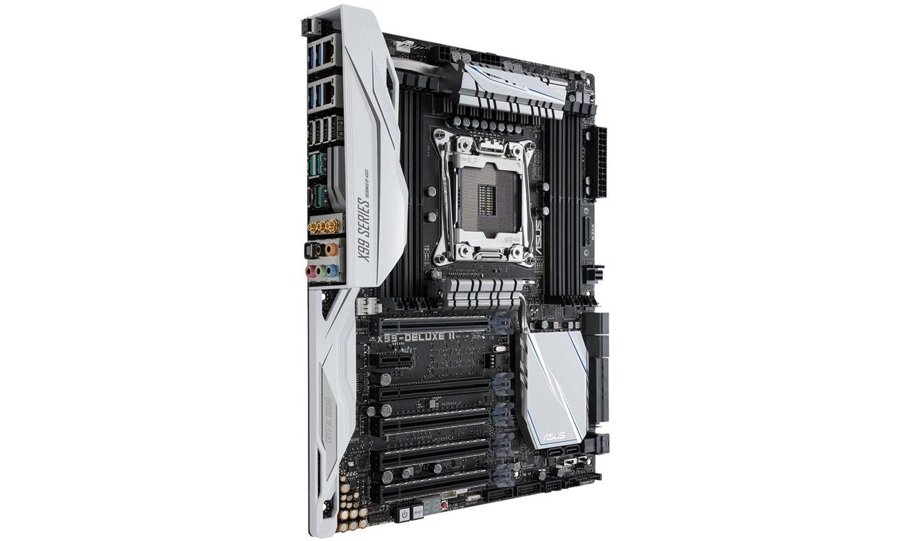 Płyta główna ASUS X99- NVIDIA® SLI™ i AMD CrossFireX™