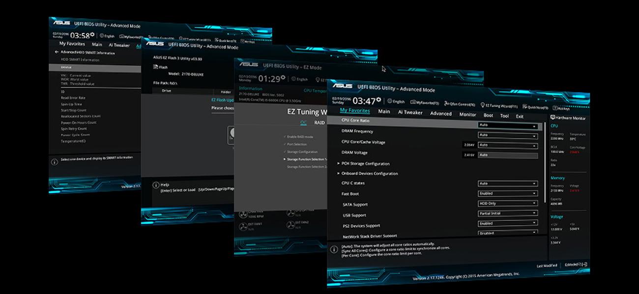 ASUS X99-E UEFI BIOS