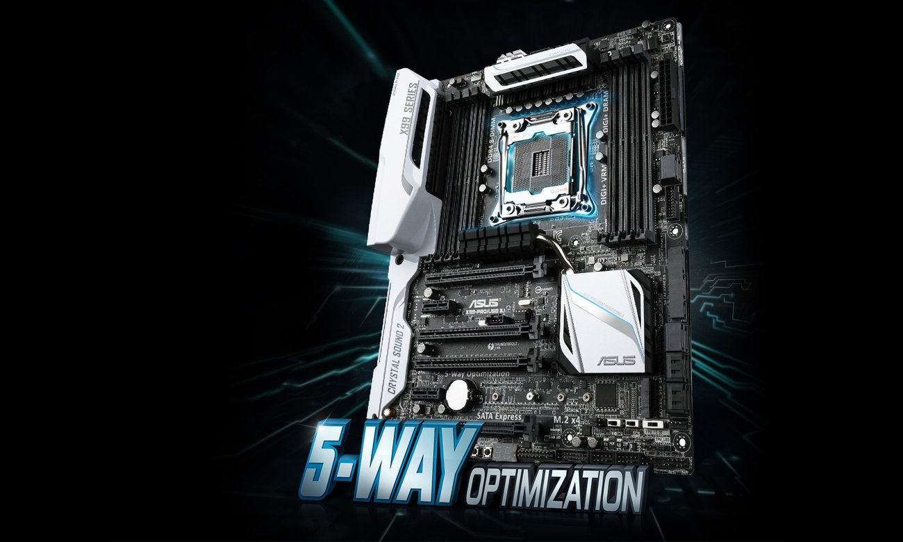 Płyta główna ASUS X99 - ASUS 5-Way Optimization