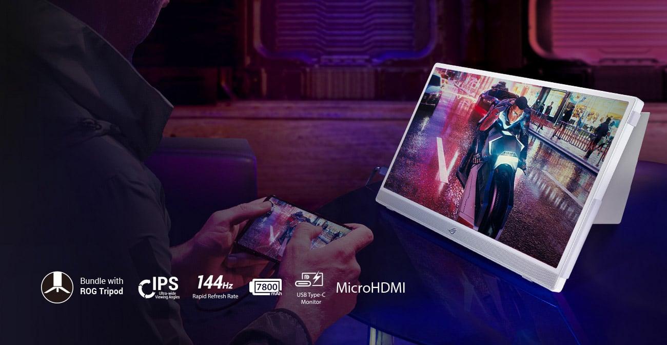 Monitor dla gracza ASUS ROG STRIX XG16AHP