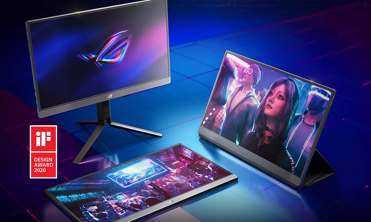 Monitor przenośny dla graczy ASUS ROG STRIX XG17AHP