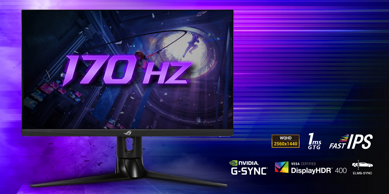 ASUS ROG STRIX XG27AQ HDR