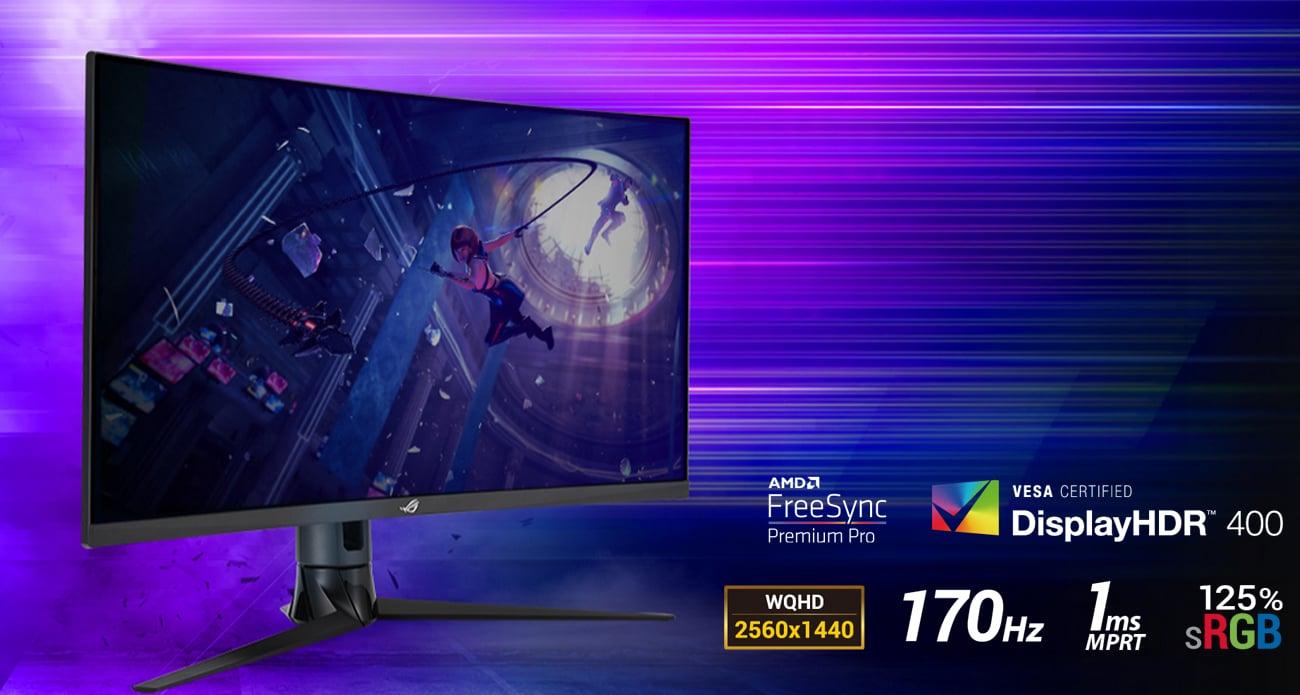 Monitor dla graczy ASUS ROG STRIX XG32VC Curved