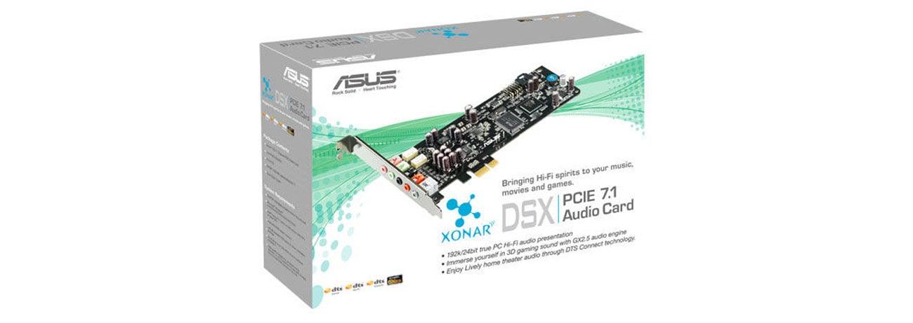Karta muzyczna ASUS Xonar DSX PCI-E