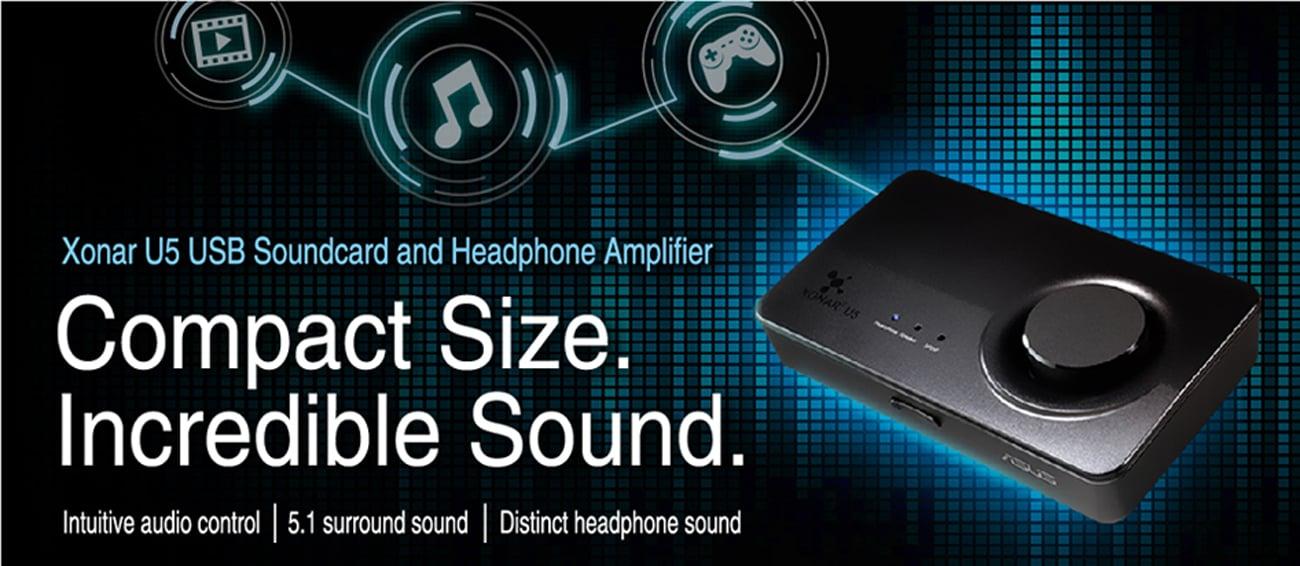 Karta muzyczna ASUS Xonar U5 USB