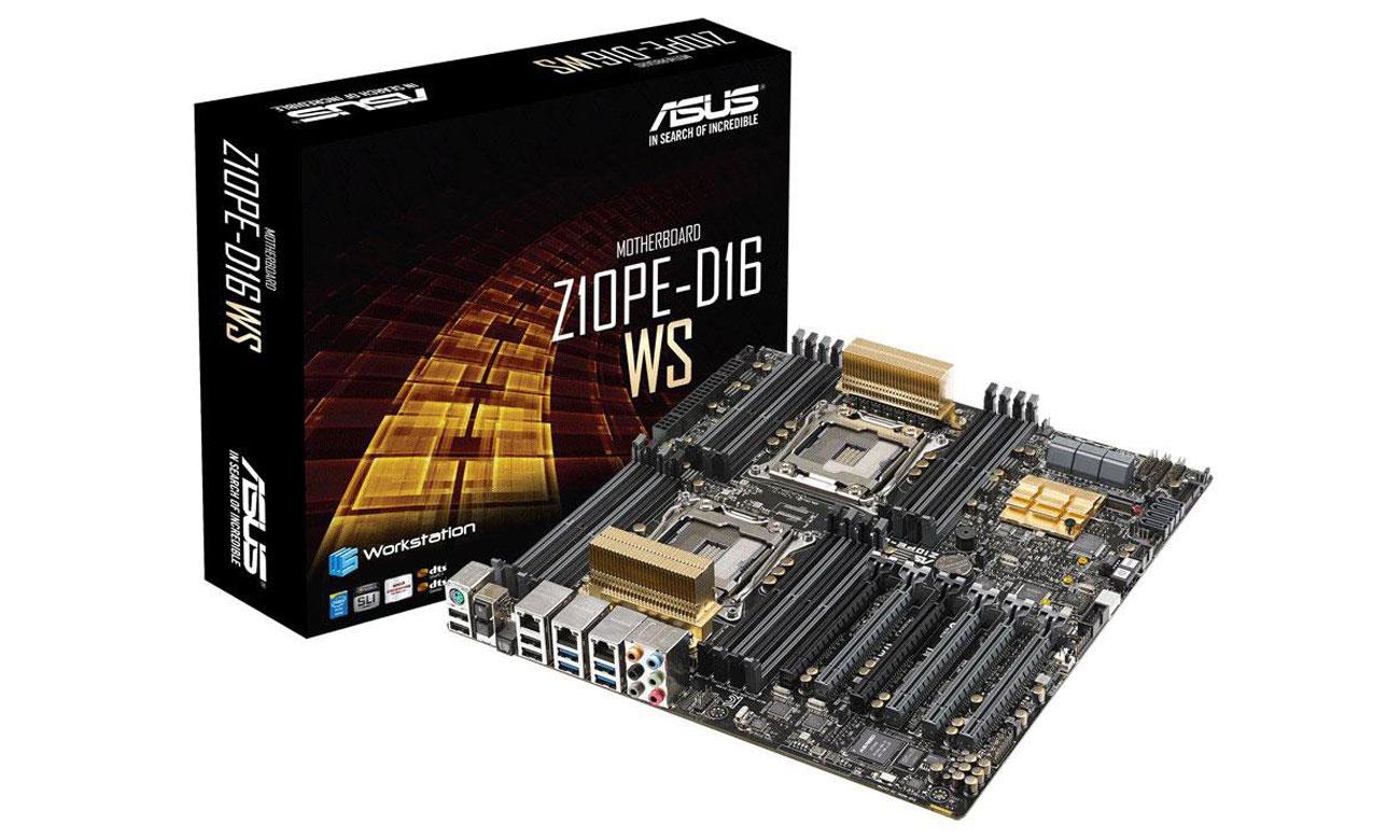 ASUS Z10PE-D16 WS Wydajna płyta główna z podwójnym gniazdem procesora